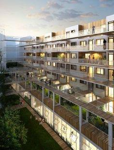 Coursives - LESS - aavp architecture - vincent parreira architecte dplg