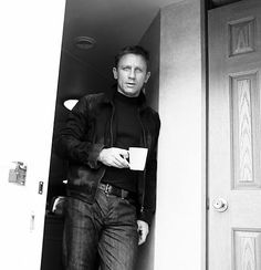 Daniel Craig; coffee, yes please!