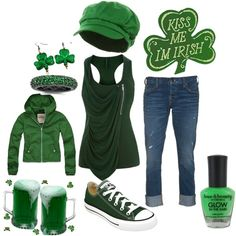 St Paddy's Day outfit. I need ALL of this!