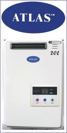 atlas Water heaters Gas On Demand Water Heaters, Control Panel, Delivery