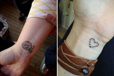 Tatuagens Delicadas que Quero Fazer | Que se Ame