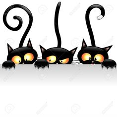 Cartoon Cats Stock Vector Illustration And Royalty Free Cartoon ...