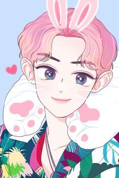 [170718] #fanart #Chanyeol #찬열 #EXO #엑소 Kpop Exo, Exo Chanyeol, Exo Ot12, Kpop Fanart, Kpop Anime, Avatar, Fandom Kpop, Exo Fan Art, Korean Art