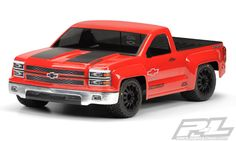 Chevy Silverado Pro-Touring Clear Body This is a Chevy Silverado Pro-Touring Clear Body. Do you have the need for speed