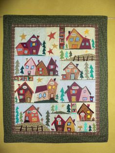 sulky village quilt pattern - Google Search