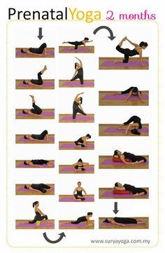 My Surya Yoga Baby: Prenatal Yoga Practice - 2 Months