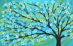 Abstract Art Tree Wallpapers