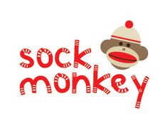 Children's toy packaging, die-line design & construction and logo design. Sock Monkey Party, Toy Packaging, Egg Carton Crafts, Sock Puppets, Dragon Crafts, Horse Crafts, Chinese Lanterns, Monkey Business, Sewing Notions