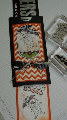 Halloween Double Slider Candy Bar Wrapper by CAROL G. - Cards and Paper Crafts at Splitcoaststampers