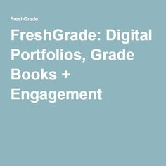 FreshGrade is a learning network that seamlessly integrates a digital portfolio, flexible gradebook, and real time communication platform. Science Classroom, Computer Science, Assessment, Grade Books, Back To School, Teacher, Student, Free, Technology