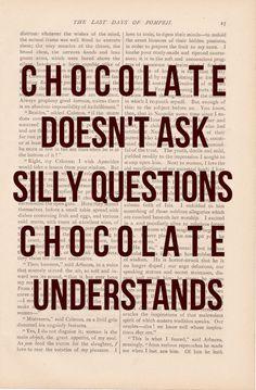 Chocolate Is my Best Friend