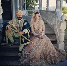 Awesome couples and awesome outfit Punjabis always classy