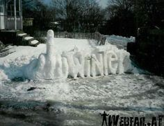 I know it's a little vulgar but I'm so over this snow... I felt the picture accurately summarizes my feelings.