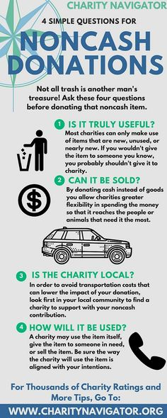 Spring Cleaning Tips For Donating Your Noncash Goods  Noncash