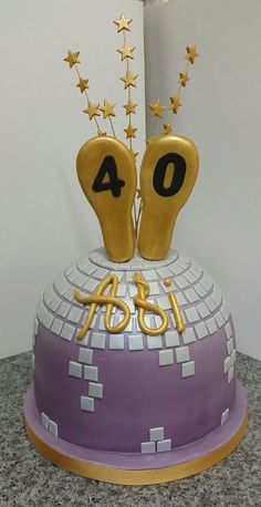 Strictly Come Dancing Birthday Cake