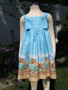 Knot Dress Size 5 By the Seashore $27 #etsy #sea #fashion