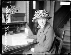 On This Day In Women's History - Jeanette Rankin - Only woman in COngress to vote for Women's right to vote.