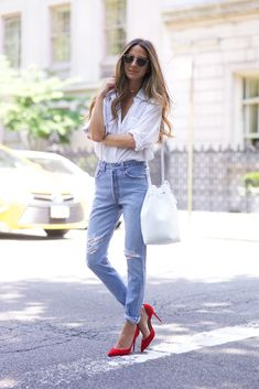 Head to toe cotton look we have to try!
