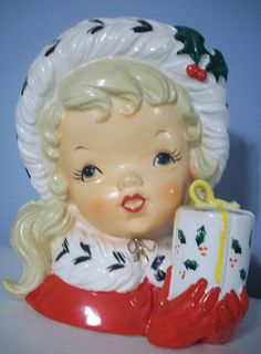 So pretty} Retro Napco figurine