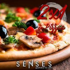 Comparte en familia o amigos de este día de relax en @sensesgastrobar  tus pizzas favoritas están en 2x1! Nos encanta que la pases bien por eso te regalamos una pizza. Compra 2 y paga solo 1. #senses #gastrobar #food #foodie #puntofijo #falcon #venezuela #chef #pizzas #drinks #tapas