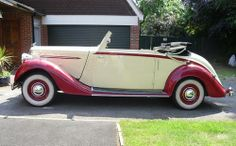 Humber Imperial drophead coupe (1938)