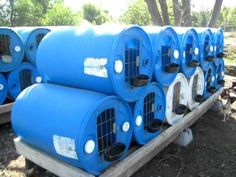 dry well plastic barrel - Google Search