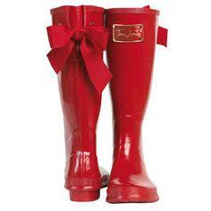 i think i need a pair of rain boots!