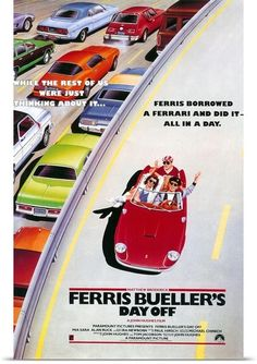 'While the rest of us were thinking about it...' Ferris Buellers Day Off! One of a kind #autoart! Click to get yours #Ferrari #movies