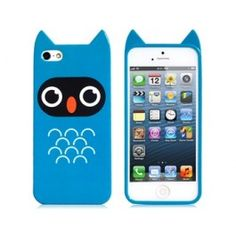 Spooked Owl Blue iPhone 5 Case