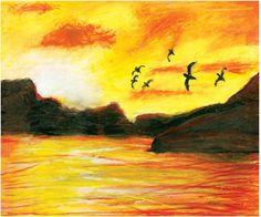 Akiane Kramarik,  RELEASING A BIRD, Age 6  (2001)