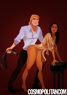 """If Disney Couples Starred in """"Fifty Shades of Grey""""  - Cosmopolitan.com"""