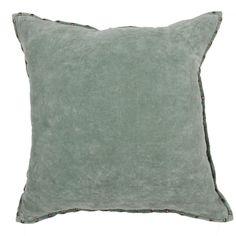 Timeless By Jennifer Adams Solid Cotton Throw Pillow