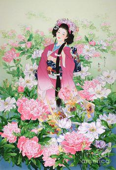 Syunsyo Digital Art by Haruyo Morita