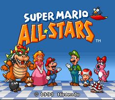 Super Mario All-Stars ROM Download for Super Nintendo / SNES - CoolROM.com