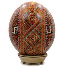 Oradea Ostrich Easter Egg