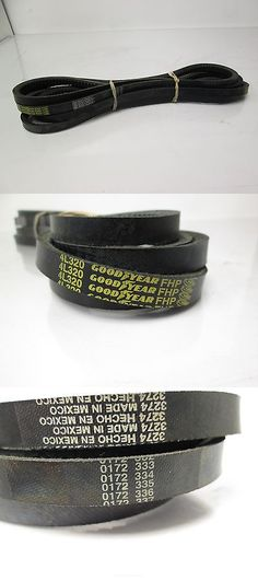 business commercial: Lot Of 5 New Goodyear 4L320 V-Belt 1 2 Width 32 Length -> BUY IT NOW ONLY: $40 on eBay!