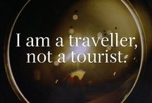 Travel Quotes - I am a traveller, not a tourist. Oh The Places You'll Go, Places To Travel, Travel Destinations, Travel Stuff, Travel Things, Road Trip, I Want To Travel, World Traveler, Travel Quotes