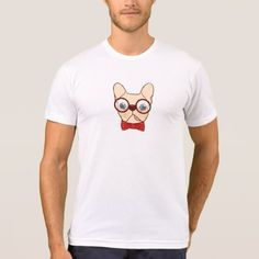 #template - #Preppy Frenchie is ready for school in new bow tie T-Shirt