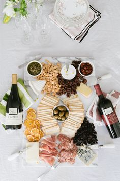 Our Wine & Cheese Board Pairing Guide for White & Red!, Food And Drinks, throwing a wine pairing party! our guide to pairing white and red wines with the perfect cheese board selections. Wine And Cheese Party, Wine Cheese, Wein Parties, Cheese Pairings, Wine Pairings, Sweet Red Wines, Dried Cherries, Charcuterie Board, Queso
