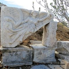 Nike; the Goddess of Victory, at Ephesus - Turkey