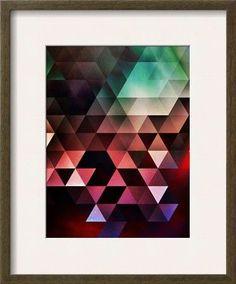'Untitled (gyyn tydyy)' by Spires Framed Graphic Art
