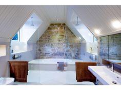 stone loft bathroom luxury