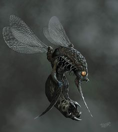 Insectoid from Hell by malverro on DeviantArt