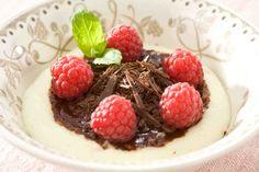 Kaszka manna z czekoladą. #kaszkamanna #czekolada #mannaczekoladowa #deser #chocolate #smacznastrona
