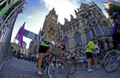 Grab a bike and cycle your way from Manchester to Blackpool on 8 July 2012