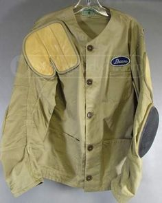shopgoodwill.com: Awesome Vintage Rifle Safety Jacket 1954