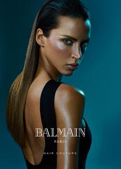 Europe Fashion Men's And Women Wears......: NOEMIE LENOIR LOOKS SLEEK & SULTRY IN BALMAIN HAIR...