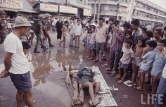 VC bodies at Thi Nghe, Saigon 1968