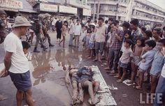 VC bodies at Thi Nghe, Saigon 1968