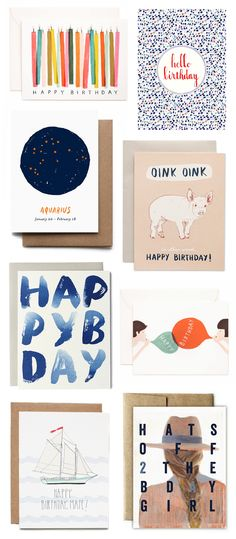 A CUP OF JO: Birthday cards